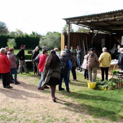 Echange de plants et visite de jardin 2019